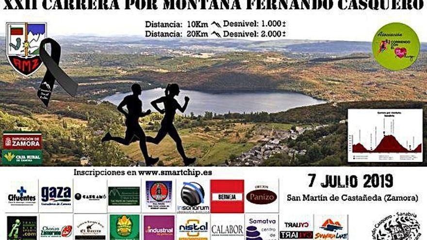 """La XXII Carrera por Montaña """"Fernando Casquero"""" de la AMZ abre su plazo de inscripción en Smartchip"""