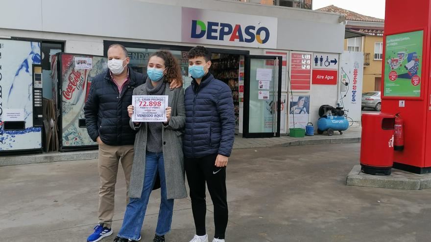Lotería de Navidad en Zamora   Una gasolinera de Toro vende 900 décimos del número posterior al Gordo