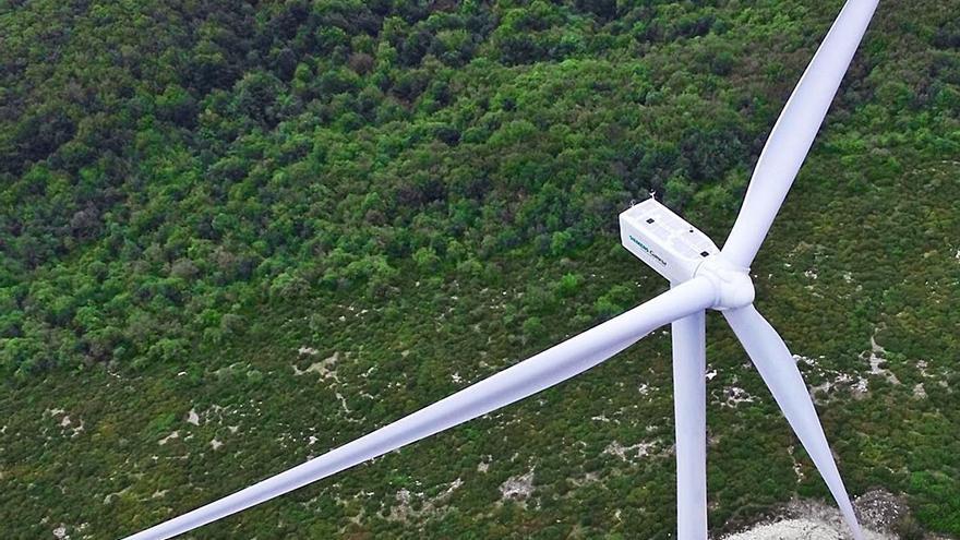 Greenalia deberá prescindir de un aerogenerador y desplazar otros