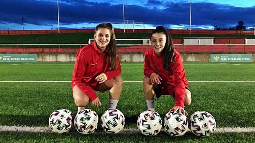 El Sporting femenino tiene dos Djukas