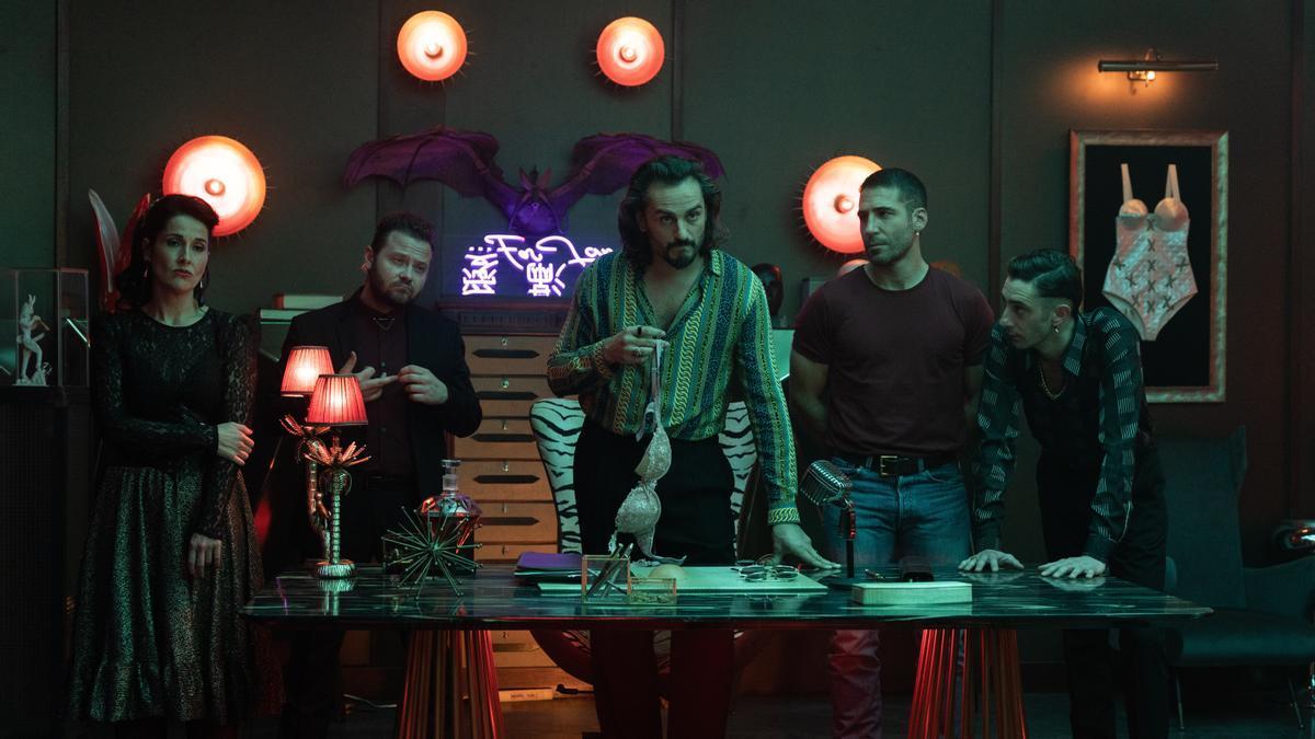 Una imagen de la segunda temporada de 'Sky Rojo'.