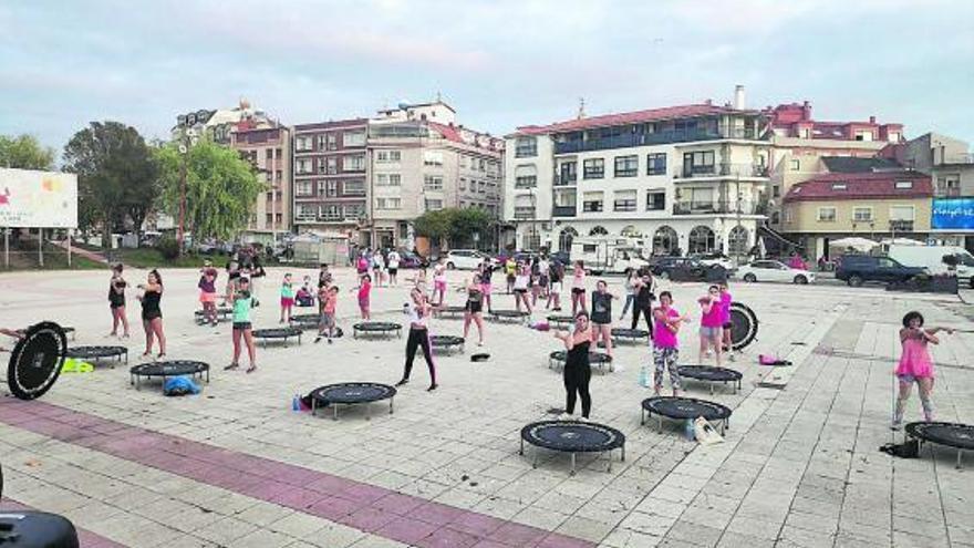 Las actividades deportivas al aire libre se convierten en un espectáculo