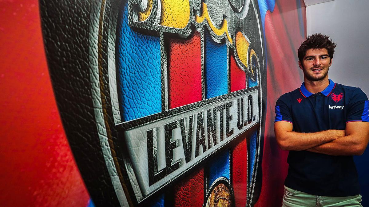 El futbolista del Levante UD GonzaloMelero, en una imagen de archivo.