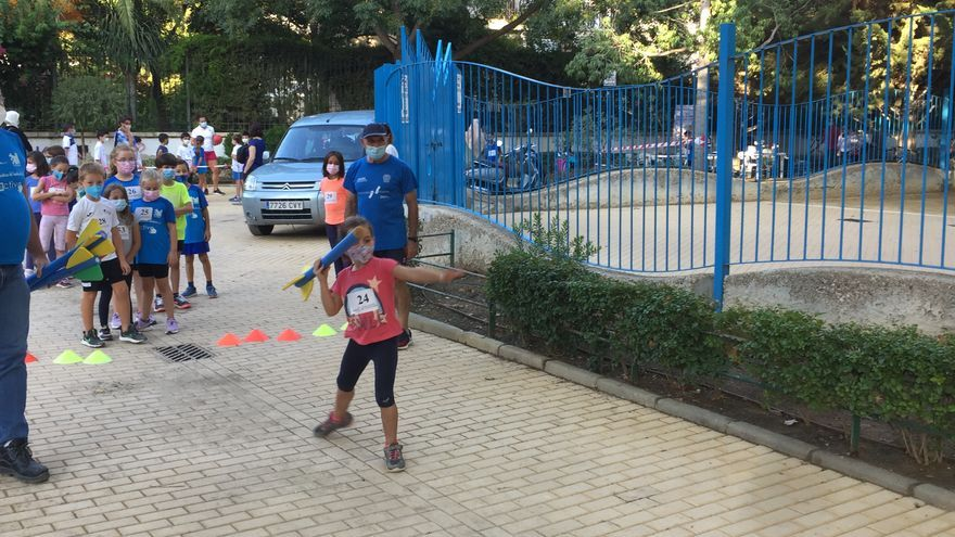 Pequeños atletas 'toman' las Alamedas de Lorca
