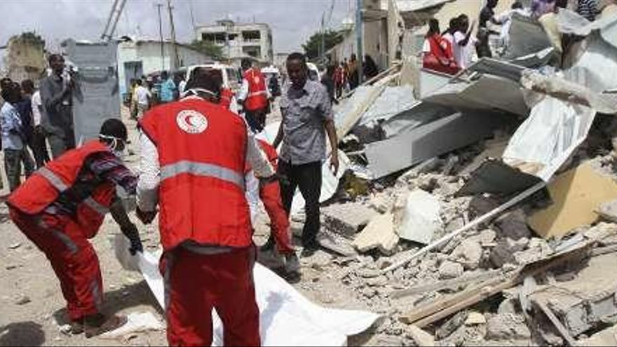 Un atentado deja al menos siete muertos en la capital de Somalia