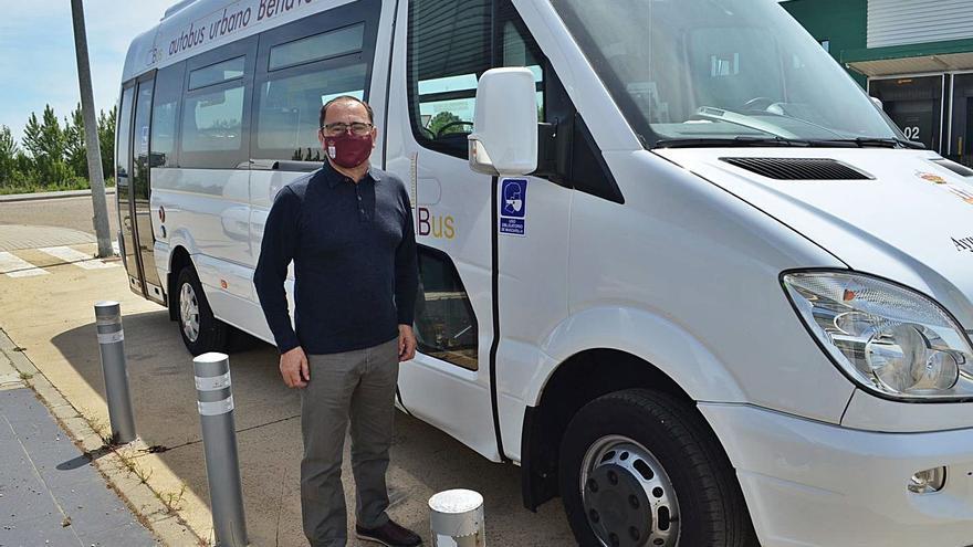 El servicio del autobús urbano de Benavente se pone en marcha el lunes con un aforo de 12 plazas