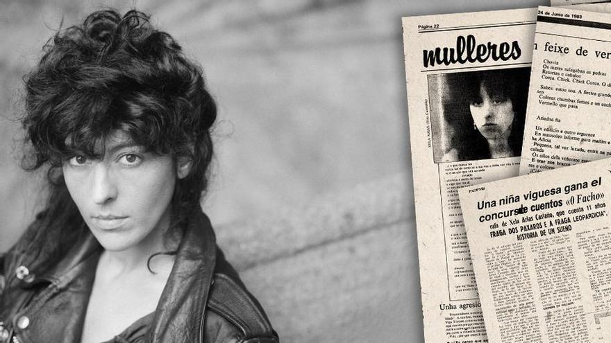 Xela Arias, unha laureada das Letras que brillaba ós 11 anos