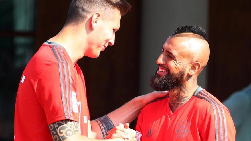 El Barcelona hace oficial la llegada de Arturo Vidal