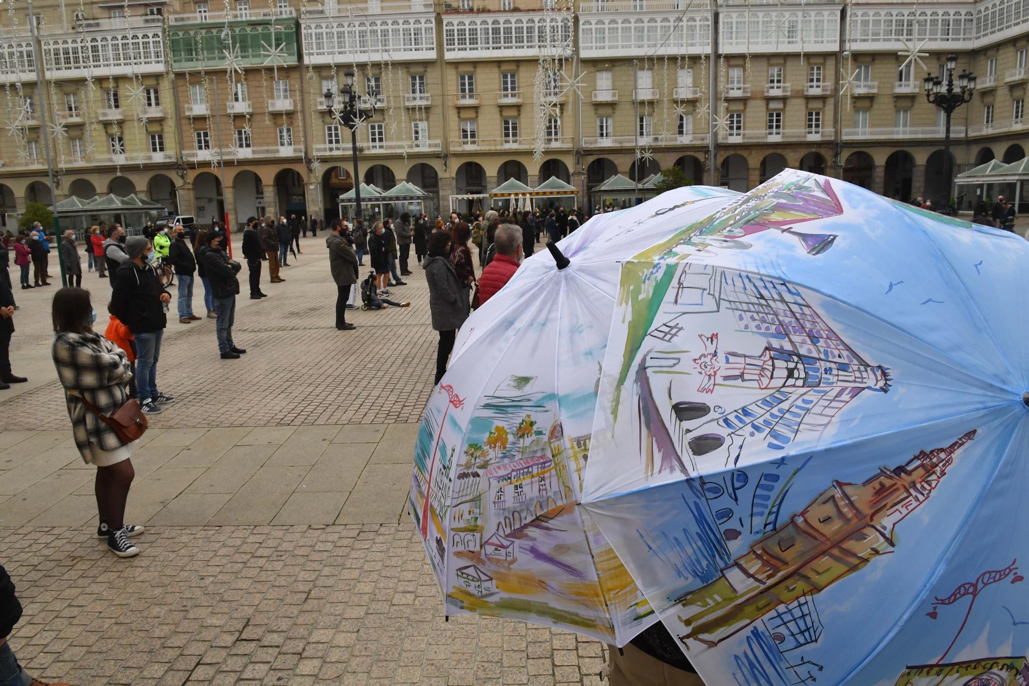 """El sector cultural de A Coruña pide """"volver a trabajar"""" y """"ayudas"""" para sobrevivir"""
