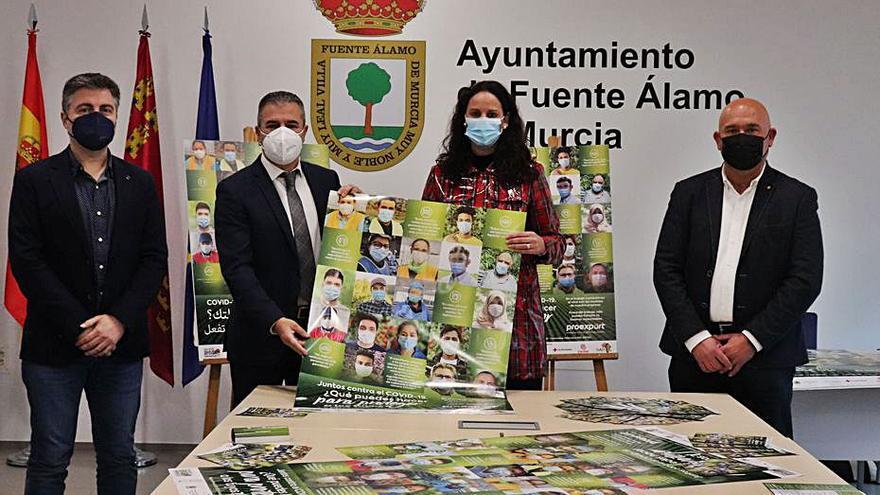 Fuente Álamo se suma a  la campaña de Proexport