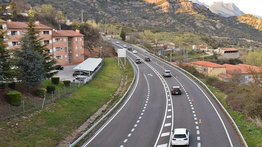 L'inici de la Setmana Santa comença amb trànsit fluid al nord del Berguedà