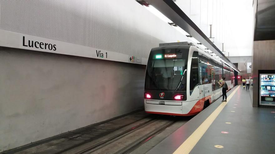 Remodelación de andenes del TRAM en Garganes para la incorporación de los nuevos trenes duales