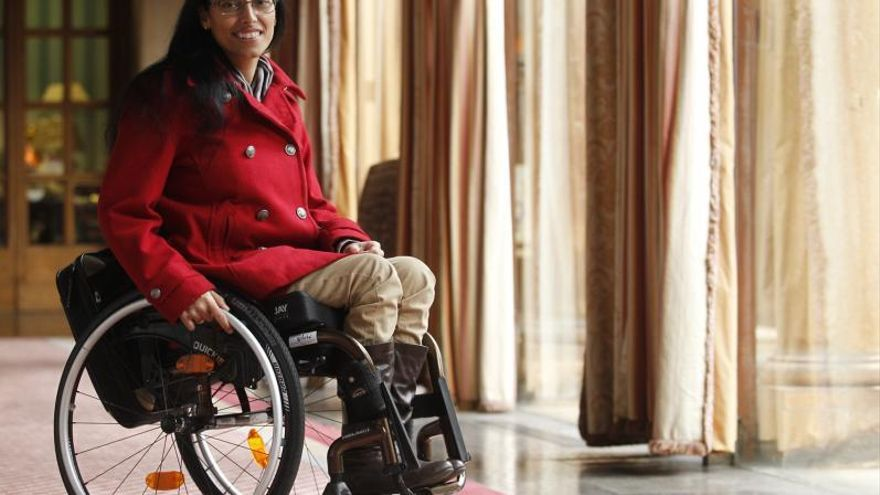 Teresa Perales hace hueco al deporte paralímpico