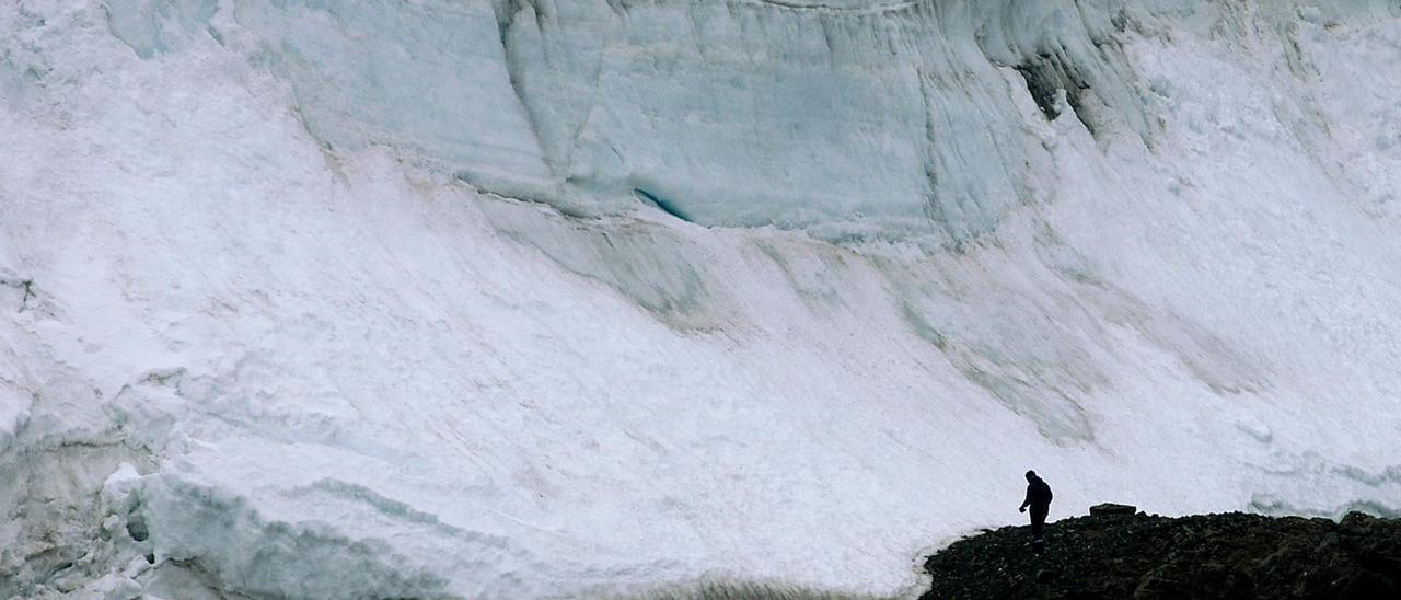 El calentamiento amenaza los glaciares.