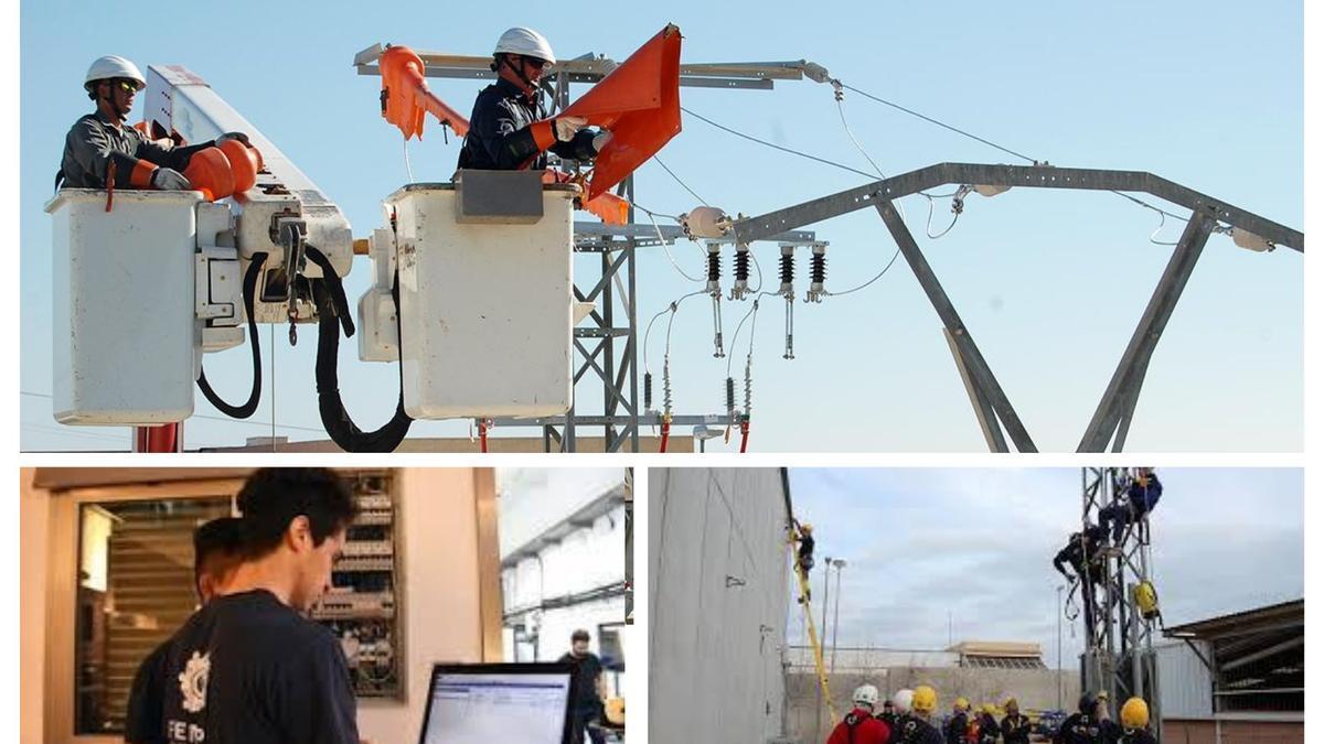 """""""La electricidad lo mueve todo"""" Apuesta por una profesión de futuro."""