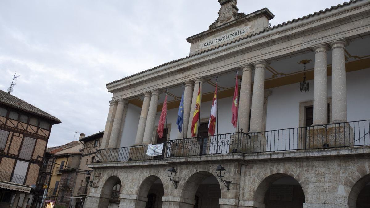Fachada del Ayuntamiento de Toro.