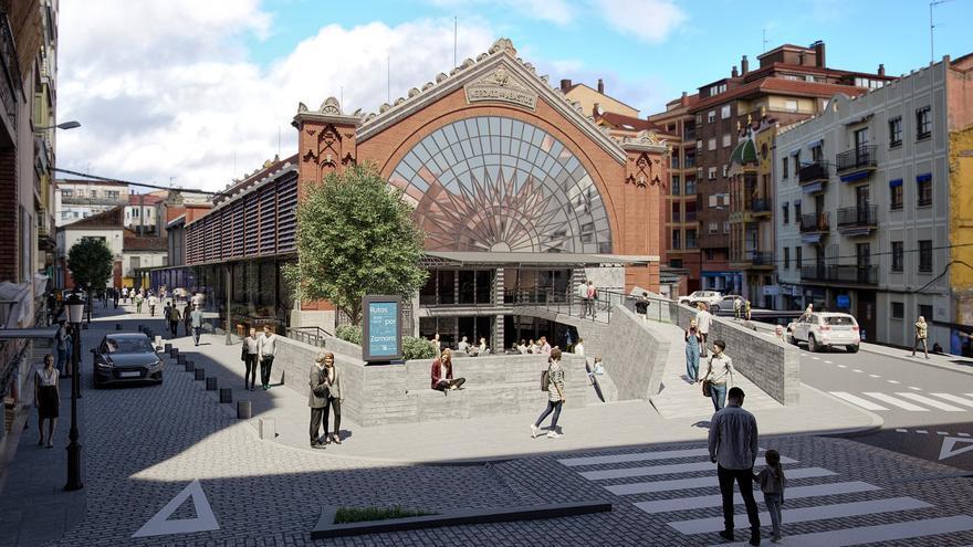 El Mercado de Abastos de Zamora muestra su nueva cara