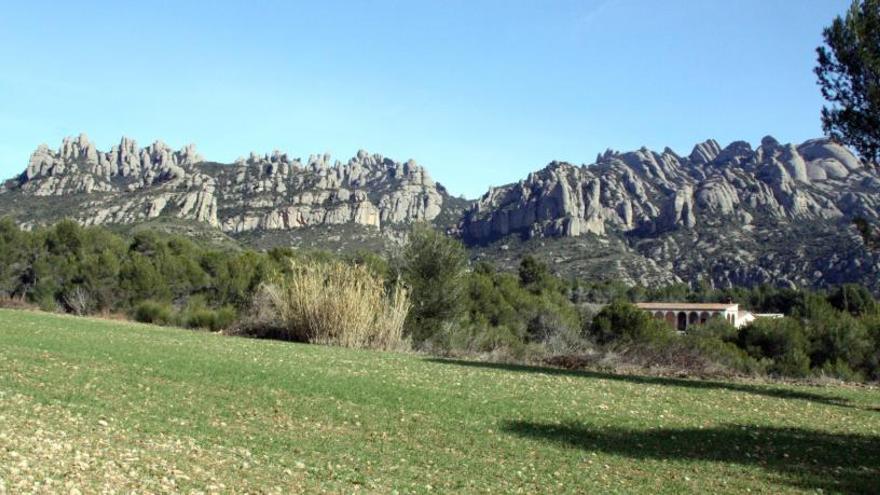 El Bruc limita el trànsit motoritzat als peus del Parc Natural de Montserrat