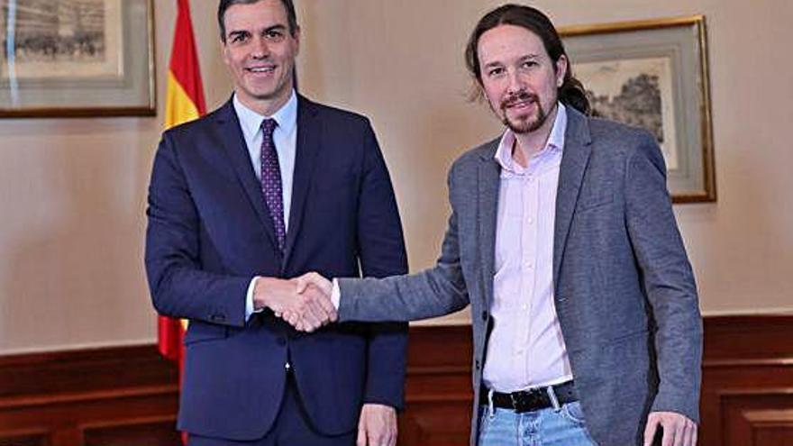 Unides Podem pretén ministeris socials com Ocupació i Habitatge