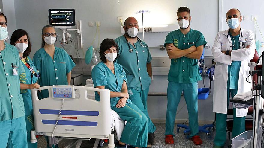 Los anestesistas de Cabueñes que durmieron al covid