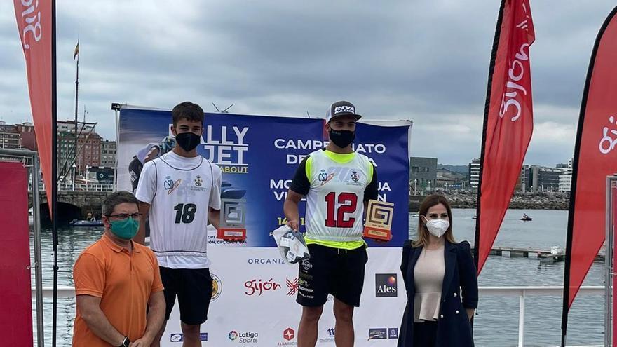 Palau, líder, y Álex Prats segundo en el Nacional de motos de agua