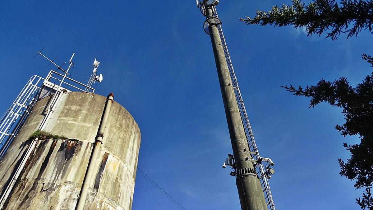 Una sentència ordena a l'Ajuntament de Calders que faci enderrocar una antena