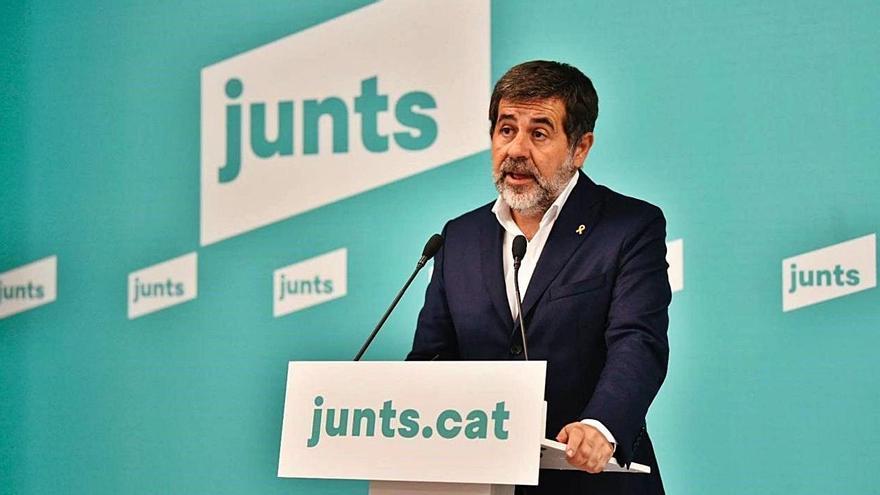 Jordi Sànchez assegura que no hi ha hagut deslleialtats entre ERC i JxCat