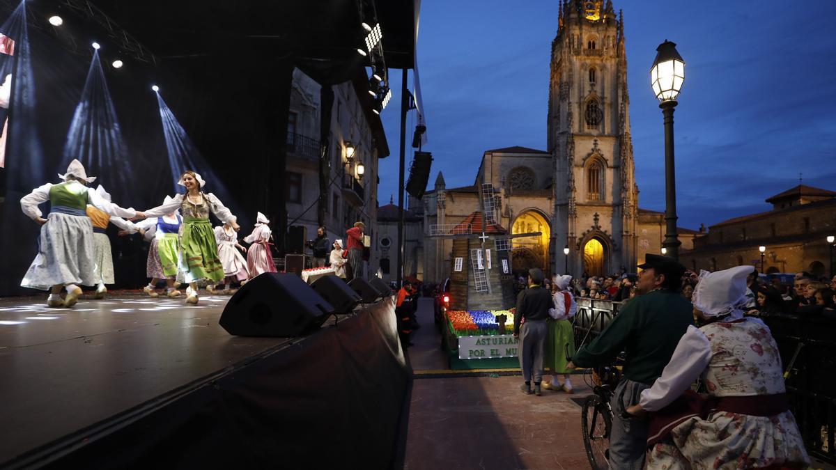 Concurso de Carnaval, el año pasado, en el Catedral.