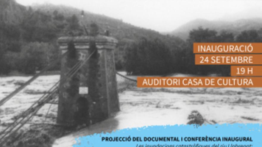 Exposició Sobrepassant els límits 50 anys dels aiguats a Olesa 1971-2021