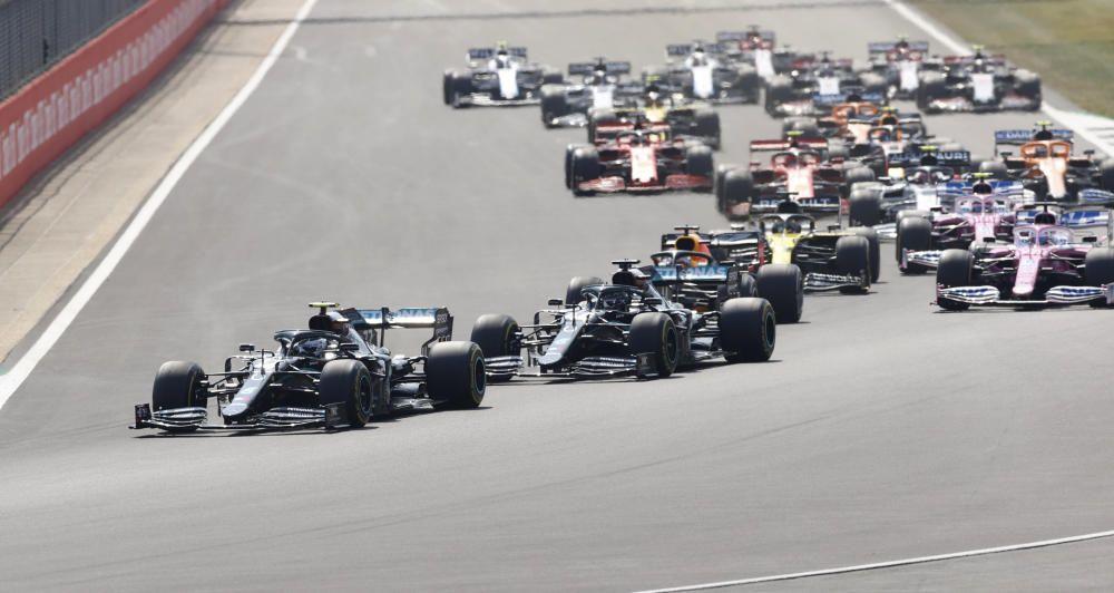 Imágenes del GP del 70º aniversario de Fórmula 1.