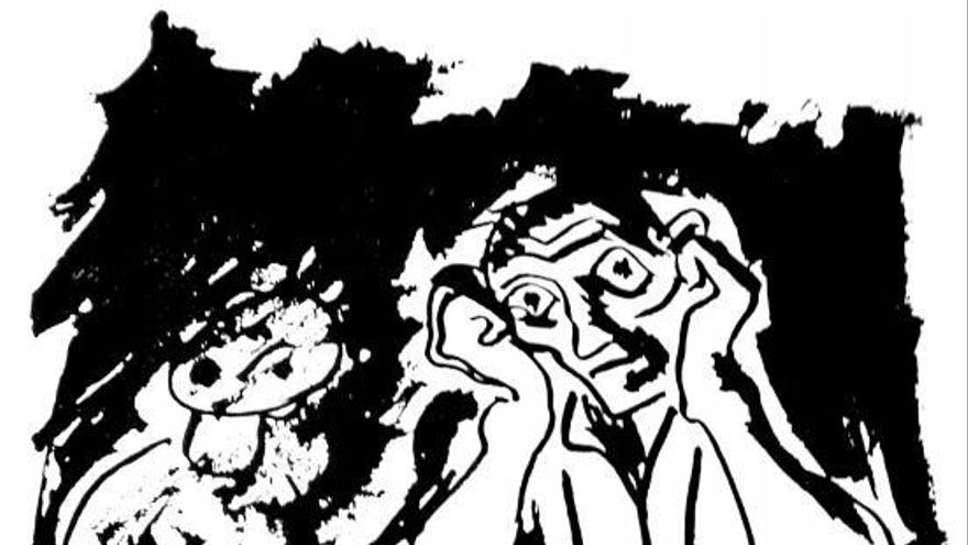 Unha presa de debuxos