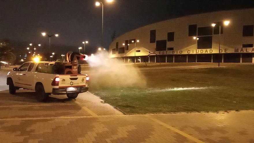 Actuaciones extraordinarias para el control de mosquitos en el Guadalhorce