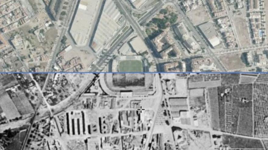 El antes y el después de la provincia visto desde el cielo