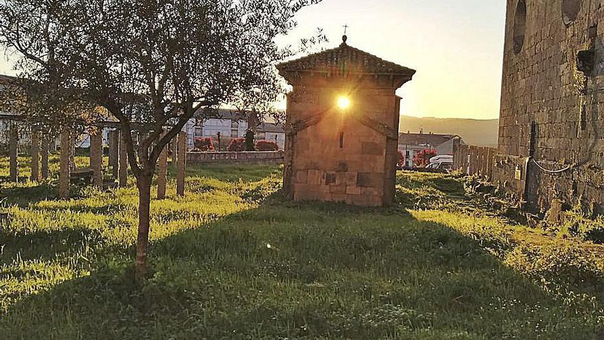 La primavera nace en la capilla de San Miguel de Celanova