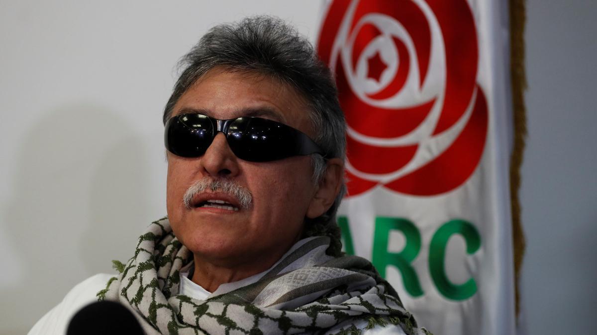 Jesús Santrich, uno de los líderes de las FARC.