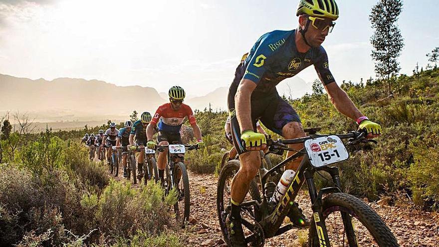 El ibicenco Morcillo finaliza la Cape Epic de Sudáfrica en quinta posición