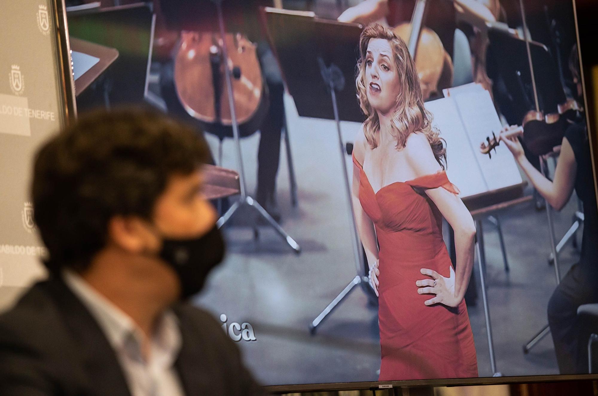 Presentación temporada de Ópera de Tenerife