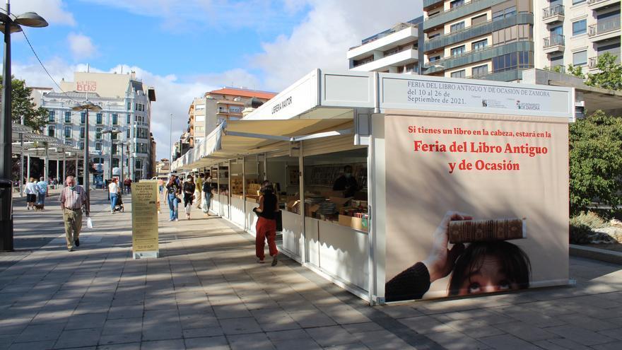 Inaugurada la Feria del Libro Antiguo y de Ocasión de Zamora