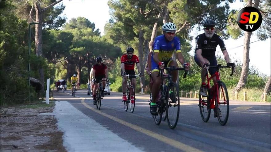 La ruta al Saler, la estrella del ciclismo en València durante la desescalada