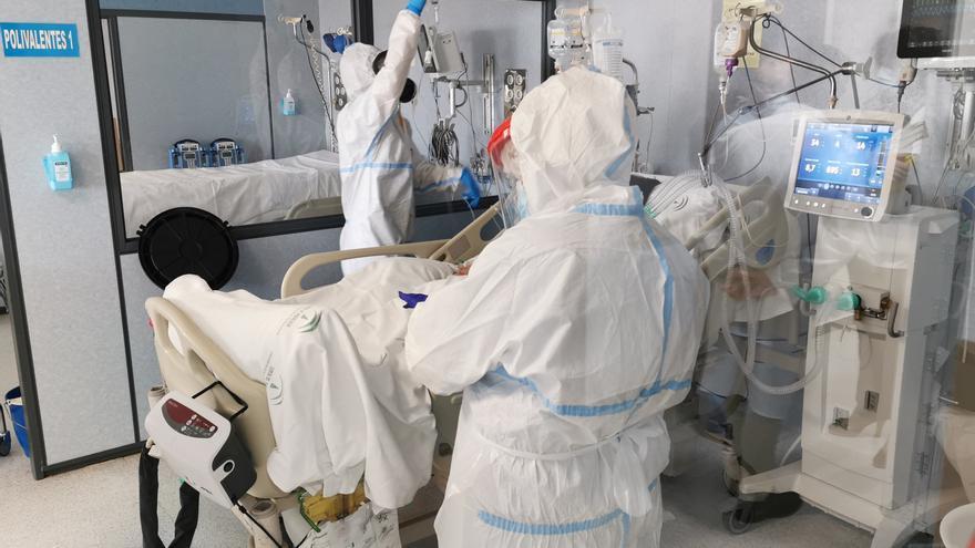 Una niña de 12 años, ingresada en la UCI del hospital de Burgos por COVID