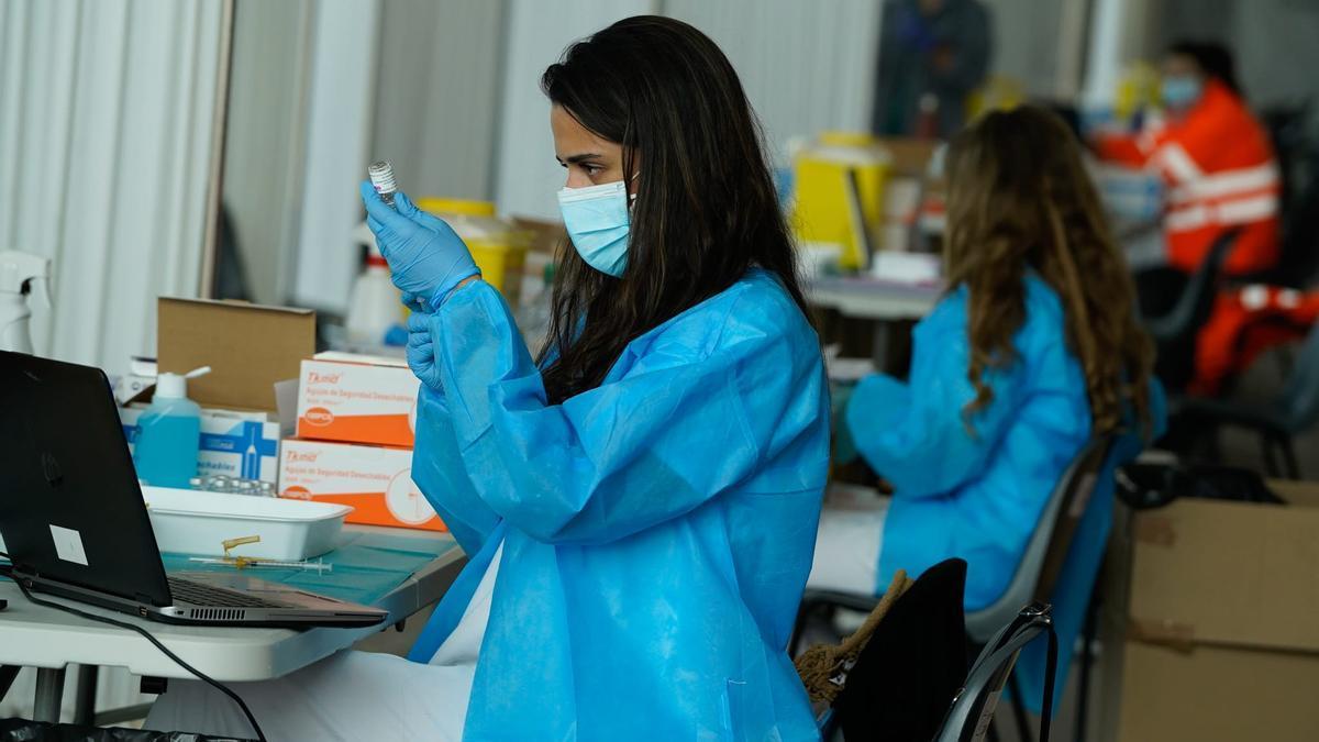 Proceso de vacunaciones en Ifeza