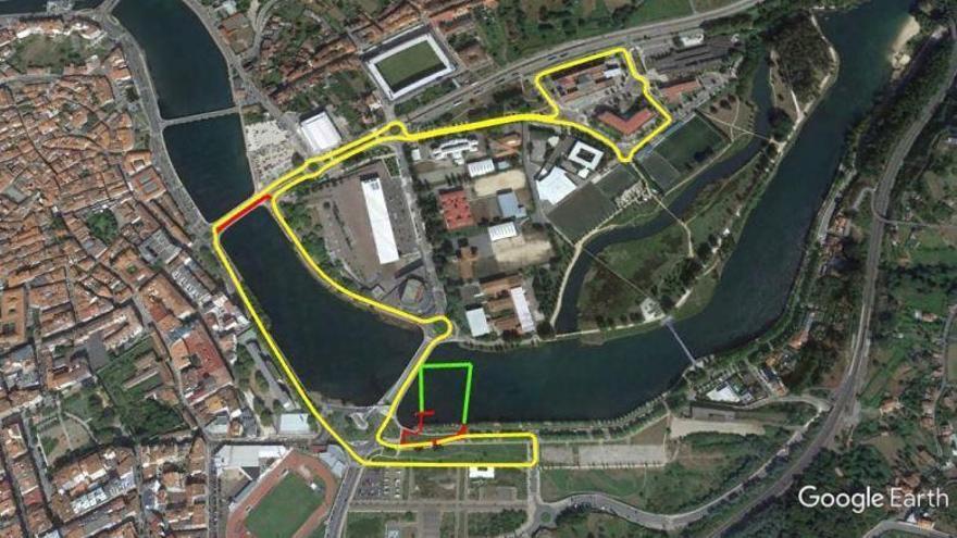 Circuitos cortos y espectaculares para el ProTour FETRI Pontevedra