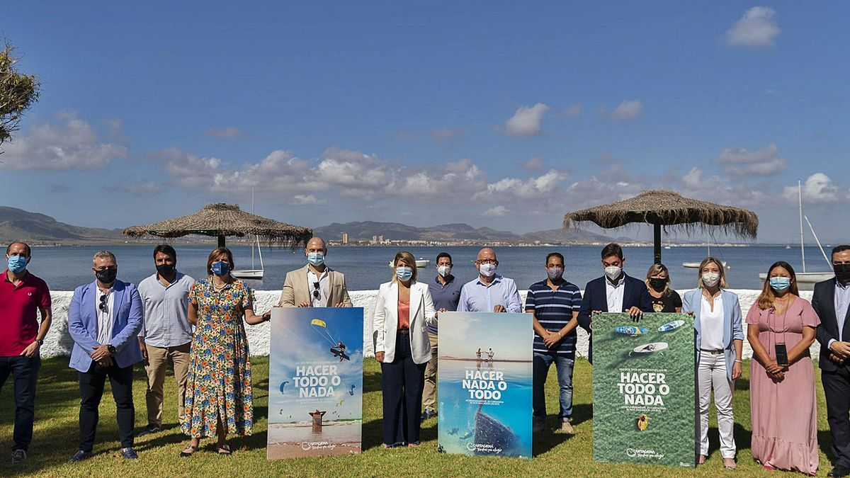 Campaña de turismo en Cartagena 'Hacer todo o nada'
