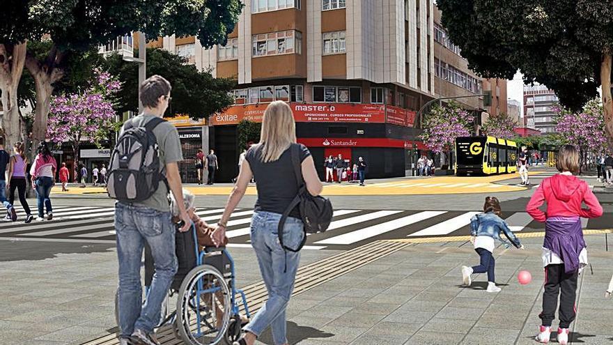 Urbanismo inicia el reasfaltado de la calle Galicia, entre Mesa y López y Juan Manuel Durán