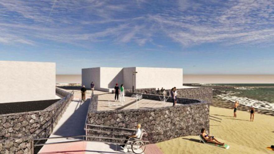 Turismo destina 100.000 euros para obras de mejora del litoral de Arrieta