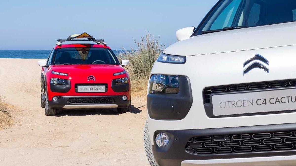 Imagen de dos modelos de Citroën. / Europa Press