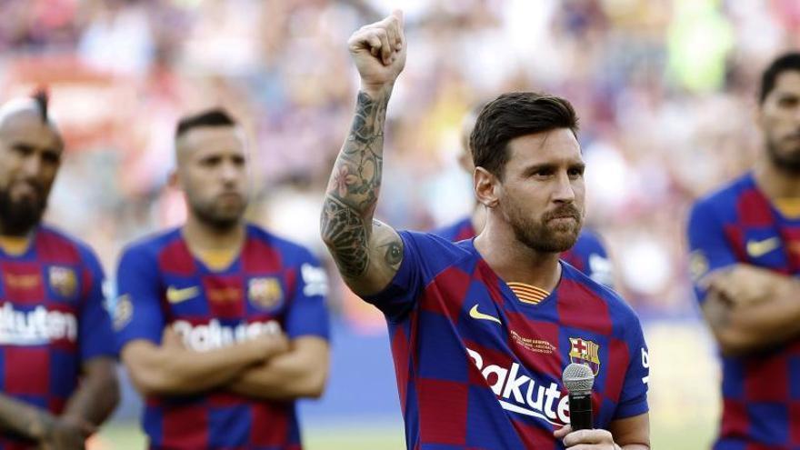 """Messi: """"No me arrepiento; vuelvo a repetir lo que dije"""""""