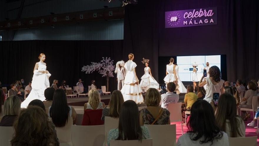 Las últimas tendencias en moda nupcial, fiesta y complementos irrumpen en Celebra Málaga
