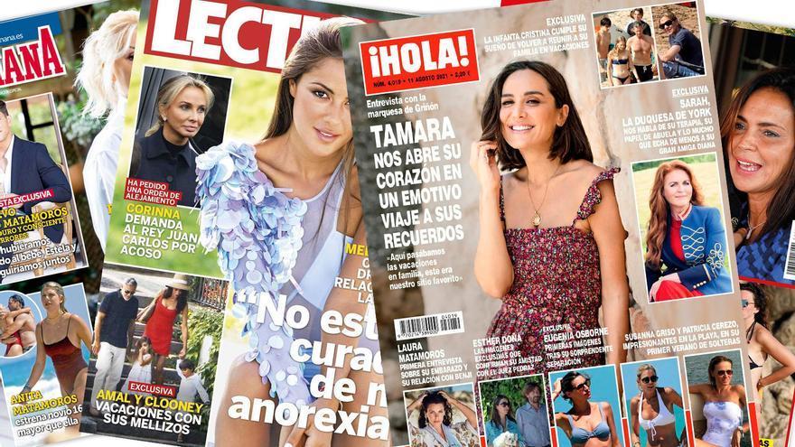Esther Doña y el juez Pedraz: la amistad del verano