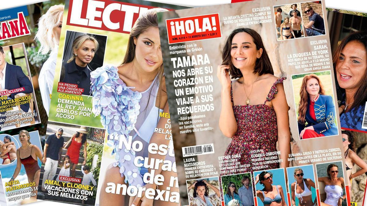 Prensa Rosa: Portadas 04/08/2021